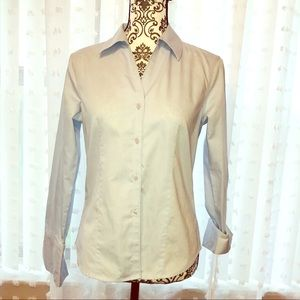 Calvin Klein Non-iron button/ long sleeve Top